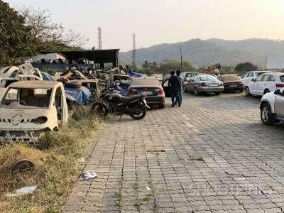 Car scrape ghodbandar
