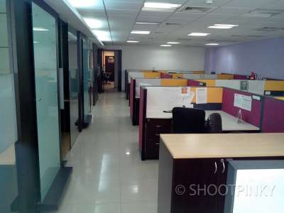 Furnished office at MIDC