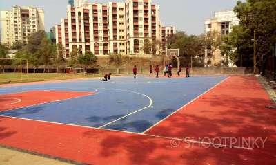 Basketball court hiranandani