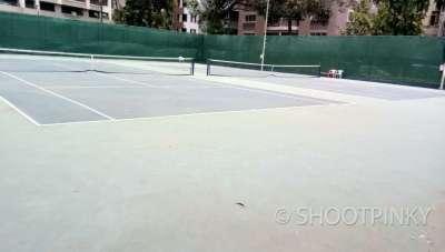 Basket ball  and lawn tennis court matunga