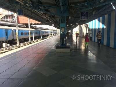 Railway station CST