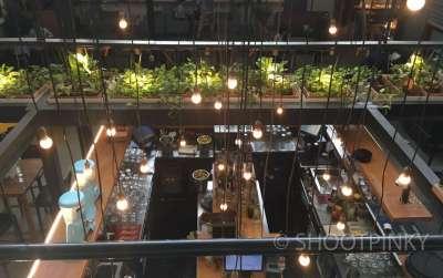 Modern look cafe lower parel