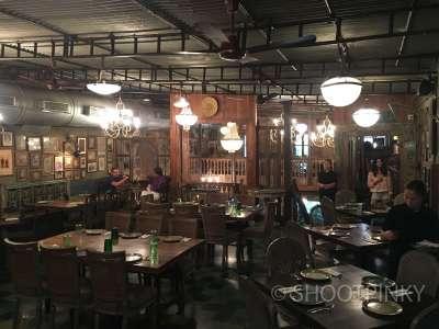 Vintage look restaurant bandra