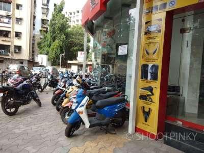 Bike showroom