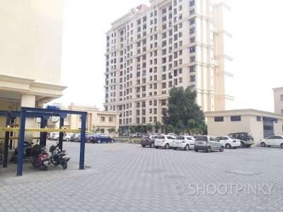 2BHK flat and compound thane