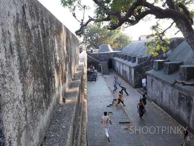 Fort at Sewri