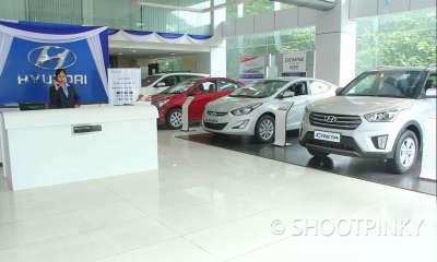 HY car showroom