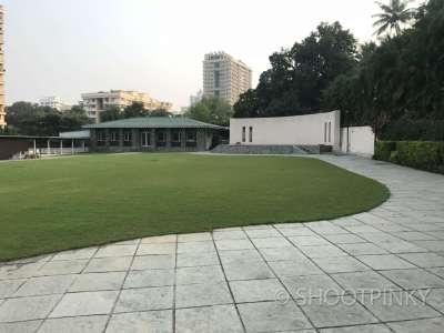 Huge green lawn Thane