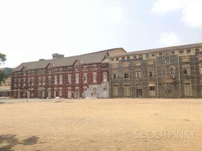 School fort